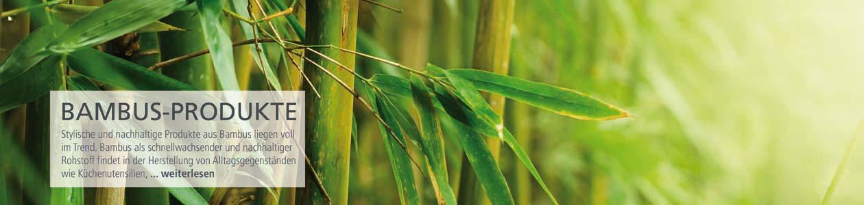 Bambus-Produkte