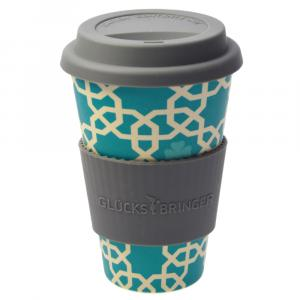 "Coffee-to-Go-Becher aus Bambus ""Orient"""