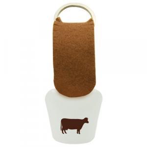 Schelle Kuh weiß