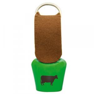 Kuhglocke Filz, Kuh, Grün/Braun