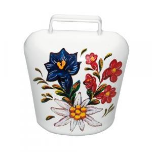Magnet Alpenblumen weiß