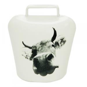 Magnet Kuhglocke, Allgäu-Kuh, Weiß