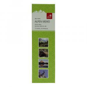 Memospiel Alpen, Grün/Weiß