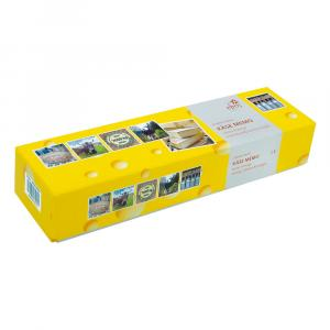 Memospiel Käse, Gelb/Weiß