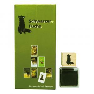 Kartenspiel Schwarzer Fuchs, Grün/Schwarz