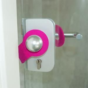 Türstopper, Wollfilz, Pink