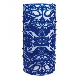 Schlauchtuch Ornament blau