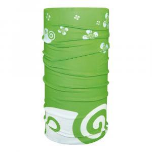 Schlauchtuch Natur grün