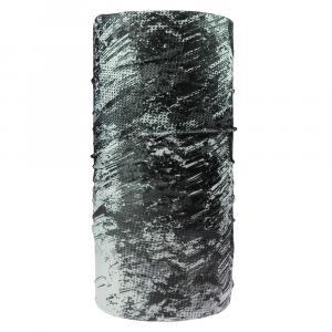 Multifunktionstuch Dirty, Schwarz/Weiß
