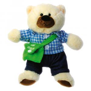 Teddybär Luck, Creme/Braun