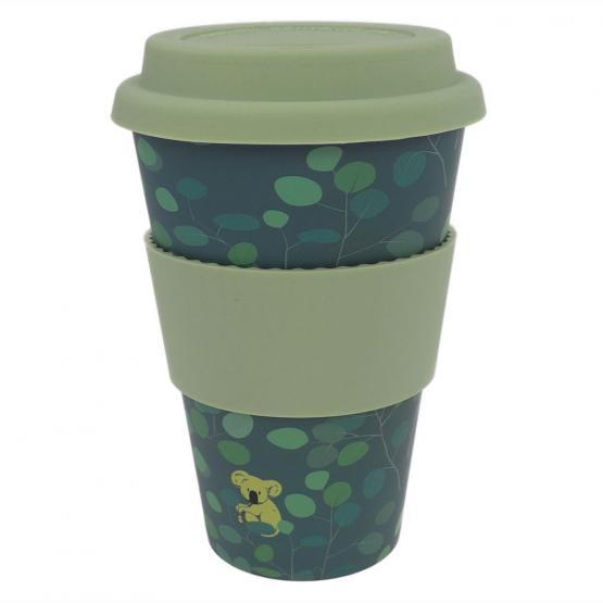 Coffee-to-Go-Becher Bambus, Lovely Koala, 400 ml