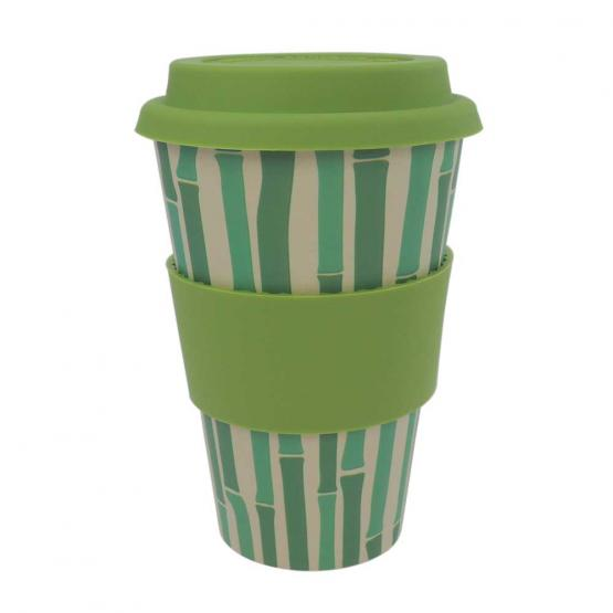 Coffee-to-Go-Becher Bambus, Bamboo Pipes, 400 ml