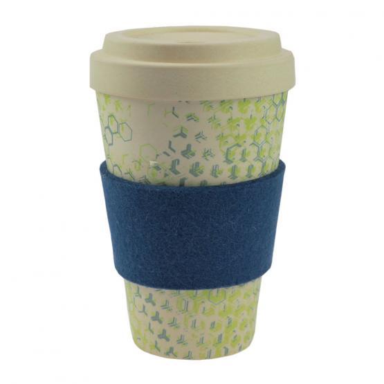 Coffee-to-Go-Becher Bambus, Dynamic New II, 450 ml