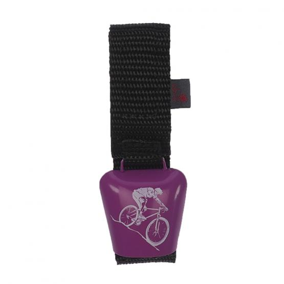 Fahrradklingel Alpenhupe Mountainbike, Pink/Weiß