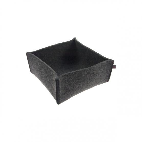 brotkorb filz grau small ebos. Black Bedroom Furniture Sets. Home Design Ideas