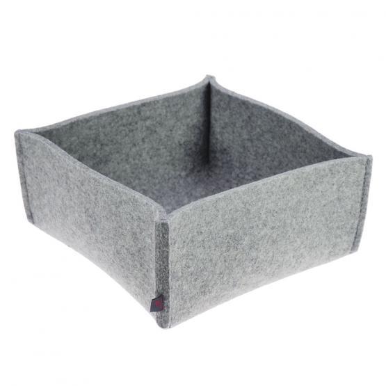 brotkorb filz hellgrau large ebos. Black Bedroom Furniture Sets. Home Design Ideas