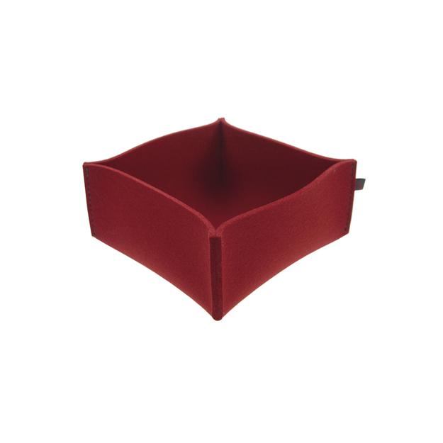 brotkorb filz rot small ebos. Black Bedroom Furniture Sets. Home Design Ideas