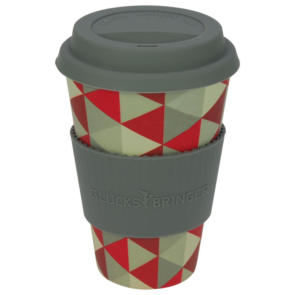 tolle geschenkideen bei ebos coffee to go becher aus bambus triangel. Black Bedroom Furniture Sets. Home Design Ideas